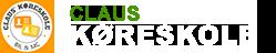 Claus' Køreskole Logo